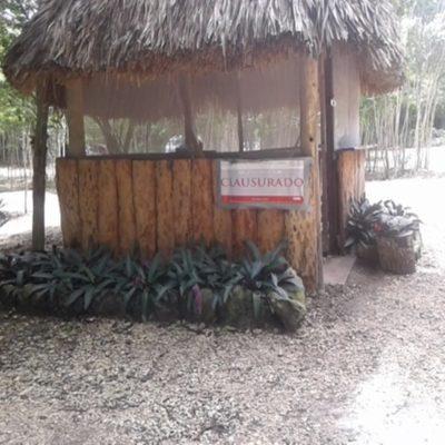 Clausura Profepa construcción de estacionamiento en las inmediaciones del Área Natural Protegida Reserva de la Biosfera Sian Ka'an