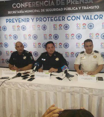 """INSEGURIDAD SE MAGNIFICA PORQUE """"VER A UN EJECUTADO CAUSA IMPACTO"""": Jefe policiaco de Cancún asegura que han disminuido algunos índices delictivos; dan de baja a 60 agentes municipales"""