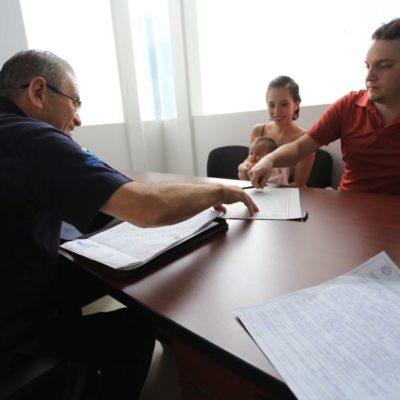 Se benefician más de mil 600 personas con campaña de registros extemporáneos en Solidaridad