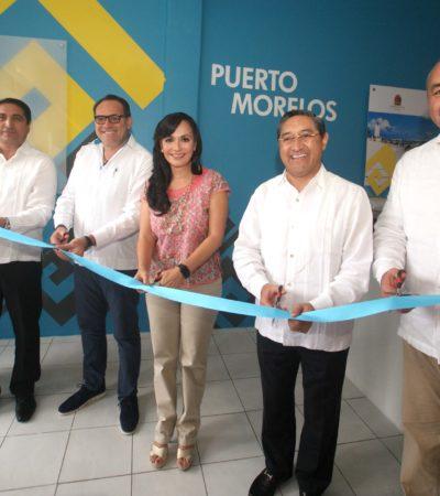 Abren Recaudadora de Rentas en Puerto Morelos