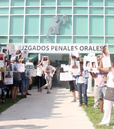 EXIGEN JUSTICIA PARA ROBERTO GONZÁLEZ: Protesta pacífica en Juzgados de Playa por el caso de hombre que dejó cuadripléjico a su vecino