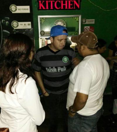 Inspeccionan bares de Cancún por nivel de ruido