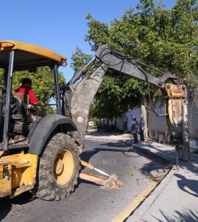 Inicia Gobierno de Solidaridad construcción del segundo paradero de transporte público