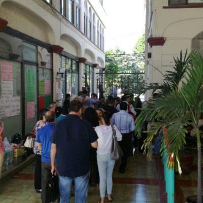 Agilizan entrega de cajas, pero continúa la odisea para clientes del FNS en Cancún