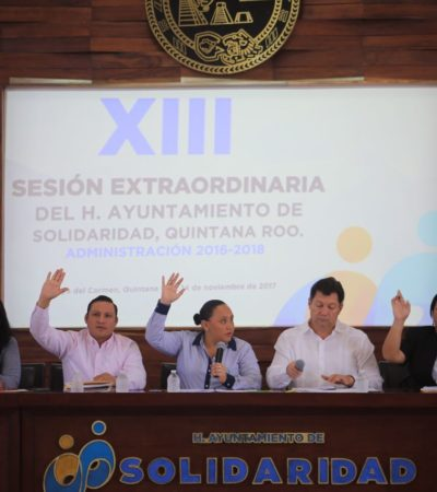 APRUEBA CABILDO LEY DE INGRESOS 2018: No habrá incremento en impuestos para solidarenses, confirma Cristina Torres