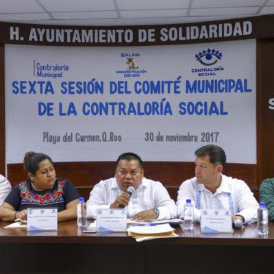 Participan ciudadanos en toma de decisiones y supervisión de obras en Solidaridad