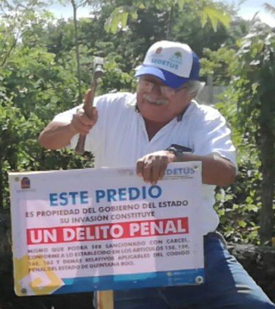 Se anticipa Sedetus a posibles invasiones en Cozumel