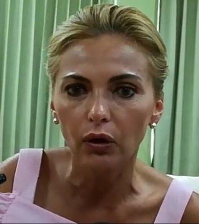 """""""QUIERE LLORAR…"""", QUE SÓLO ESO DIJO: Se deslinda Sara Latife de grito en la Cámara de Diputados"""