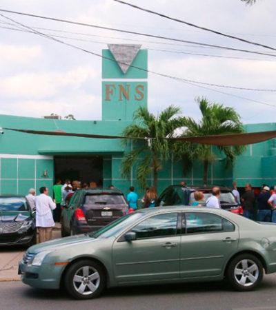 Por temor que pase lo mismo que en Cancún, clientes de Firts National Security en Mérida retiran sus valores