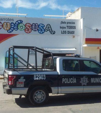 Asaltan Donosusa a punta de pistola en Playa del Carmen y se llevan $130 mil