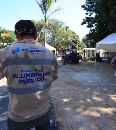 Listo el panteón municipal en Playa para recibir a familiares de fieles difuntos