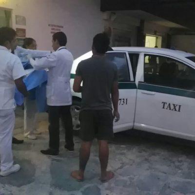 NO ALCANZÓ A LLEGAR AL HOSPITAL: Da a luz en un taxi en Cancún