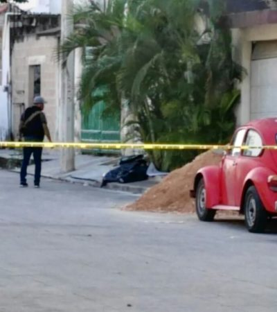PRELIMINAR   APARECE DESCUARTIZADO EN LA REGIÓN 231: Hallan restos humanos en bolsas de basura en una banqueta en Cancún