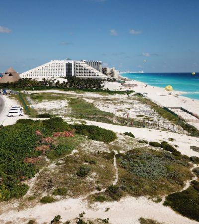 Apoya CCE hotel Gran Solaris junto a playa Delfines