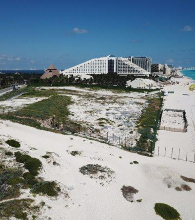 AVALA COMUNA CONSTRUCCIÓN DE HOTEL JUNTO A PLAYA DELFINES: Proyecto Gran Solaris Cancún cuenta con todos los permisos en regla, aseguran autoridades