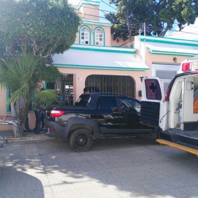 Se roban caja fuerte en un domicilio de la SM 27 en Cancún
