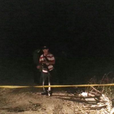 """""""ESTO ME PASÓ POR ANDAR DE CHAPULÍN"""": Ejecutado encontrado anoche tenía un narcomensaje"""