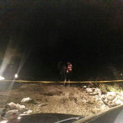 EJECUTADO EN LA REGIÓN 224: Hallan cuerpo encintado y envuelto en sábana entre los fraccionamientos Alejandría y Vista Real de Cancún