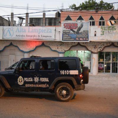 ASALTO A BALAZOS EN LA REGIÓN 96: Dos heridos en el ciber 'Vimeza' durante violento atraco en Cancún