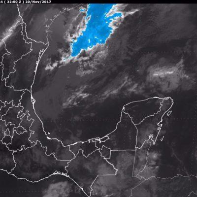 Frente frío en puerta traerá lluvias y favorecerá bajas temperaturas en la Península de Yucatán