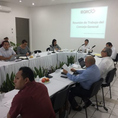 Con retraso, prepara Ieqroo entrega de propuesta presupuestal para el 2018