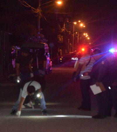Fueron dos personas a las que intentaron ejecutar la noche del miércoles en la Región 223 de Cancún