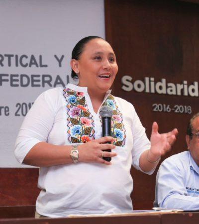 Acuerdan gobierno y empresarios proyecto para mejorar la carretera federal en el norte de Playa del Carmen