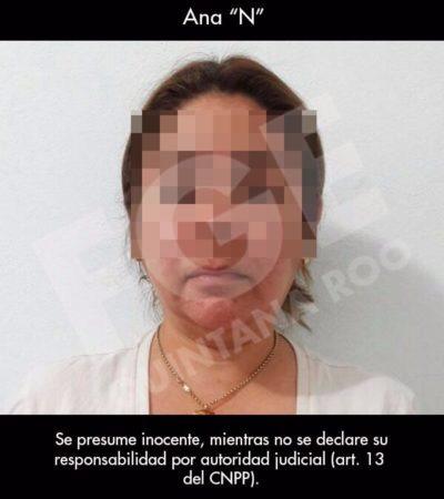 AGARRAN A UN 'CHARAL' BORGISTA DE LA CORRUPCIÓN EN CAPA: Detienen a Ana Alicia Rivera Galera, ex directora de Recursos Financieros de la dependencia estatal