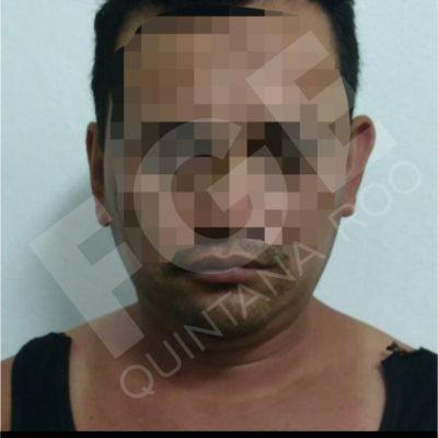 Detienen a un padre que abusaba sexualmente de su hija menor de edad, en Cancún