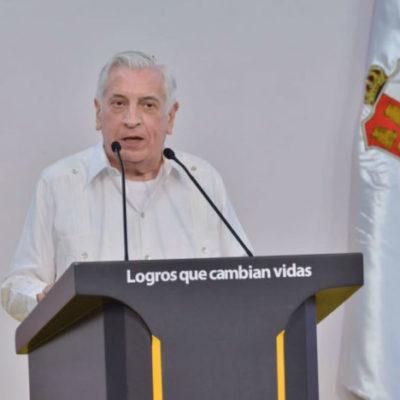 Rinde Arturo Núñez informe en Tabasco con advertencias contra quienes quieran provocar problemas en el próximo proceso electoral