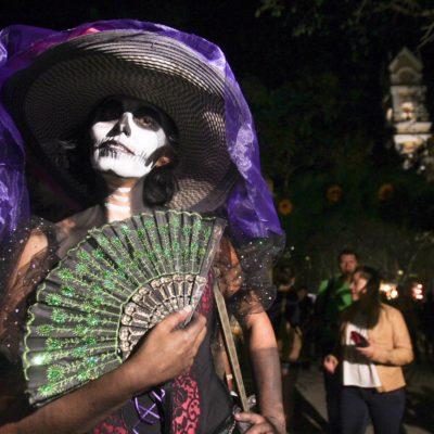 CELEBRAN LA MUERTE AL ESTILO YUCATECO: Al menos 46 mil personas asistieron al Festival Vida y Muerte de Xcaret