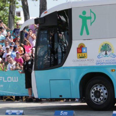 SEGUNDO DÍA DEL 'STRONGMAN CHAMPIONS LEAGUE': Asombran a Chetumal 'hombres de acero'