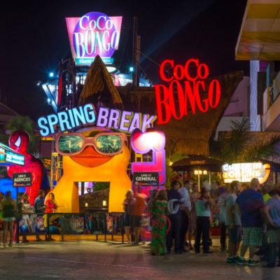 Ven recuperación de la afluencia a centros nocturnos de Cancún tras afectación por violencia durante meses anteriores