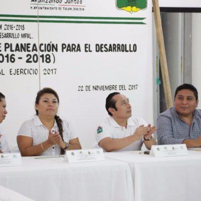 SESIÓN DEL COPLADEMUN: Equipa Romi Dzul a Seguridad Pública; el saldo entre lo contratado y lo presupuestado, se destinó a salarios
