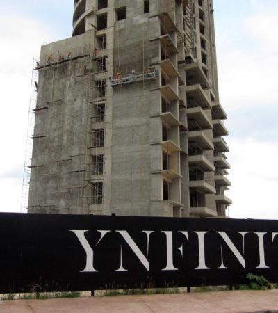 Clausura del proyecto 'Ynfinity' es por obra nueva fuera de tiempo, explica subprocurador de la Profepa