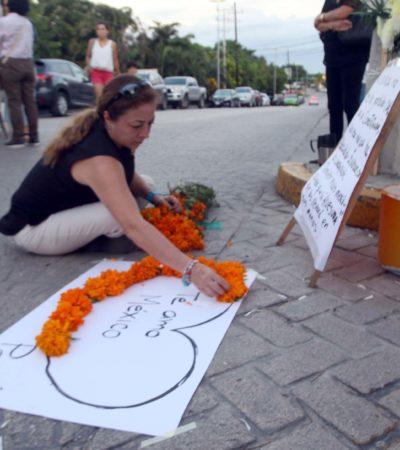 Visita CNDH a afectados por cajas de seguridad aseguradas por la SEIDO en Cancún