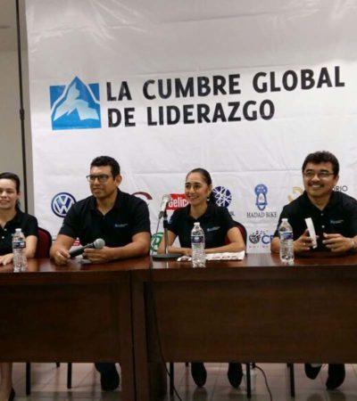 Anuncian cumbre de liderazgo en Cancún