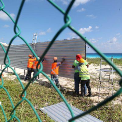 SUSPENDE AYUNTAMIENTO OBRAS DEL GRAN SOLARIS CANCÚN: Precisa Alcalde que no se trata de una clausura definitiva del polémico proyecto junto a playa Delfines