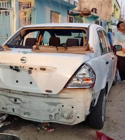 'ESTALLIDO' EN LA COLOSIO: Investiga Fiscalía reporte de explosión en Playa del Carmen, pero descarta que se trata de una granada