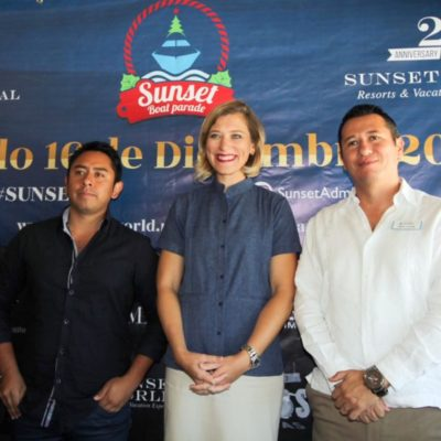 Invitan al Sunset Boat Parade 2017 en Cancún