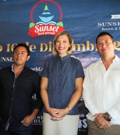 Invitan al Sunset Boat Parade 2017 en Cancún