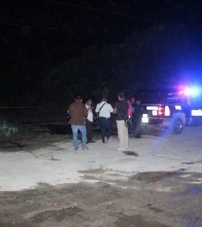 EJECUTAN A HOMBRE DURANTE LA MADRUGADA: Con un tiro en la frente, encuentran a un hombre en la Región 225 de Cancún