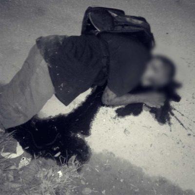 SIGUE VIOLENCIA EN CANCÚN: Matan de un disparo en la cabeza a un joven a espaldas de 'El Torito', en la Región 247 de Cancún