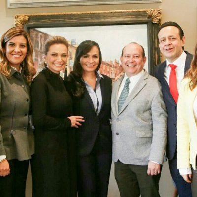 Va Laura Fernández al Congreso para gestionar más recursos federales para Puerto Morelos