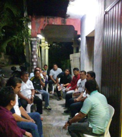 Maestros de Zona Maya se adhieren a Morena
