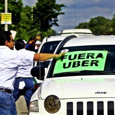 """""""ES DIFÍCIL COMPETIR CONTRA UBER"""": Este tipo de empresas sólo deben trabajar por medio de concesión, dice el líder de taxistas en Cancún"""