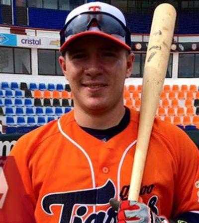 FICHAN A ESTEBAN QUIROZ PARA GRANDES LIGAS: Debutó en 2011 con Tigres de Quintana Roo y hoy se va a los Medias Rojas de Boston