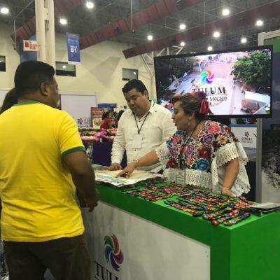 Gran éxito para Tulum en la 4ª edición de Pueblos Mágicos Monterrey 2017