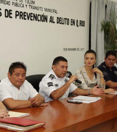 Realizan Décima Sesión de Enlaces Prevención del Delito en Tulum