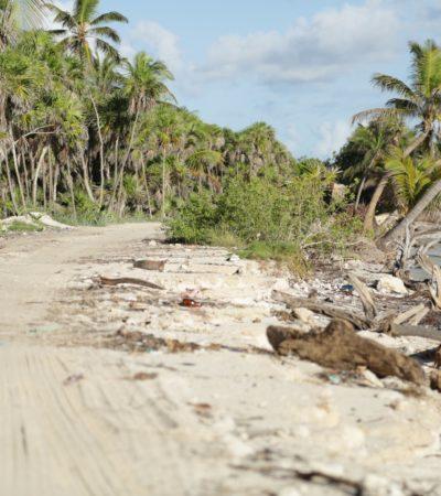 Dará comuna de Tulum anticipo de $300 mil para iniciar reparación del camino a Punta Allen